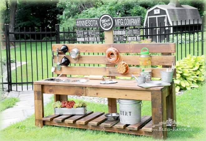 Mudpie station by Bliss Ranch