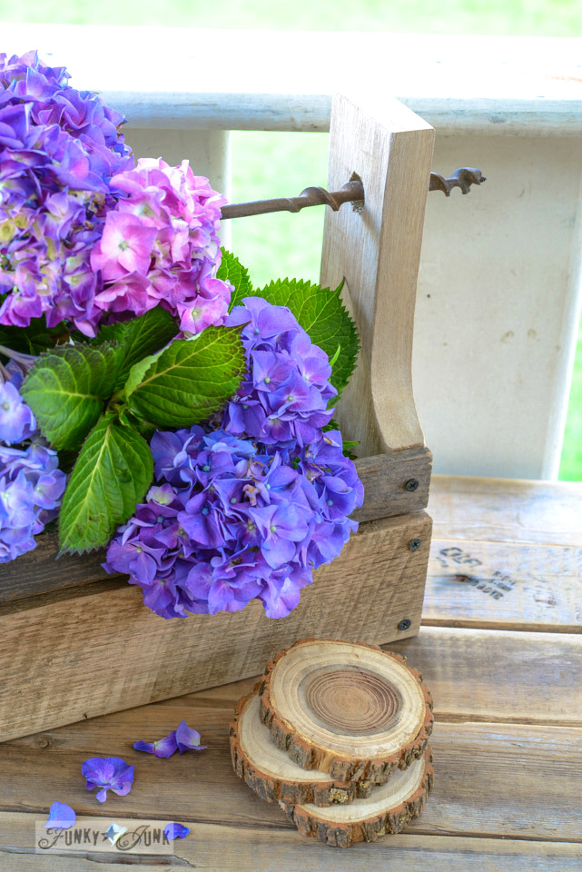 Make a drill handled toolbox planter from pallet wood via FunkyjunkInteriors.net