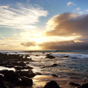 sunset on Napili Bay via Funky Junk Interiors.png