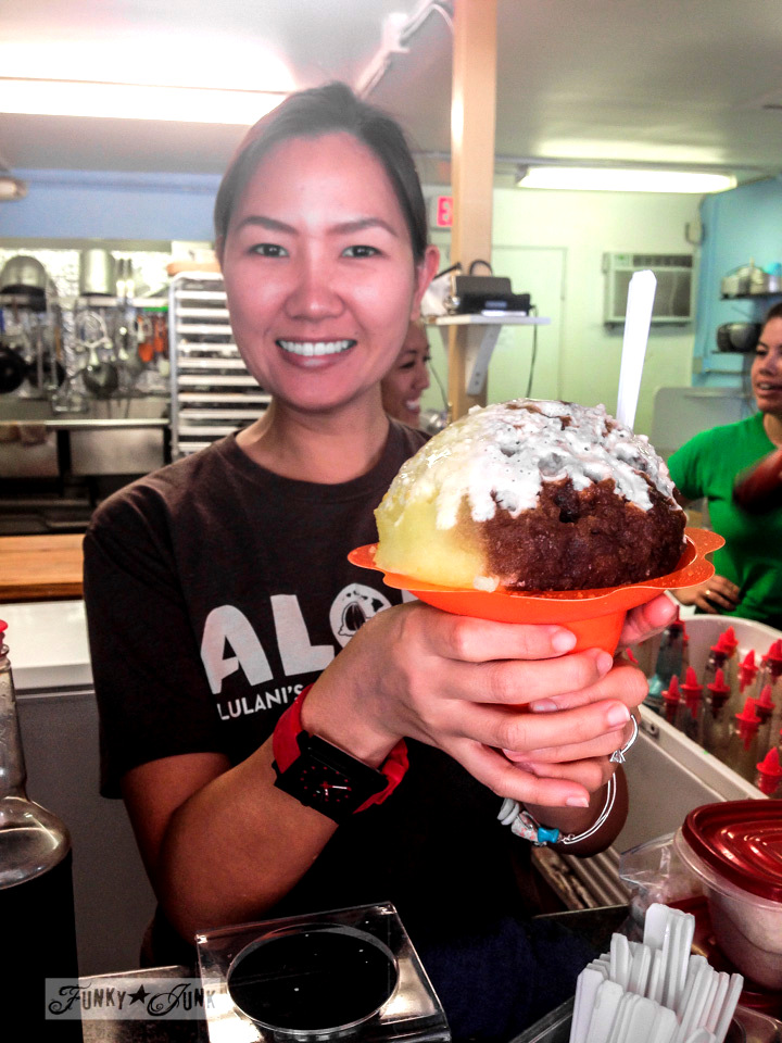 Ululani's shaved ice / Why you need to visit Paia, and other Maui tips / FunkyJunkInteriors.net