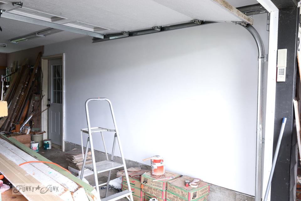 workshop white wall