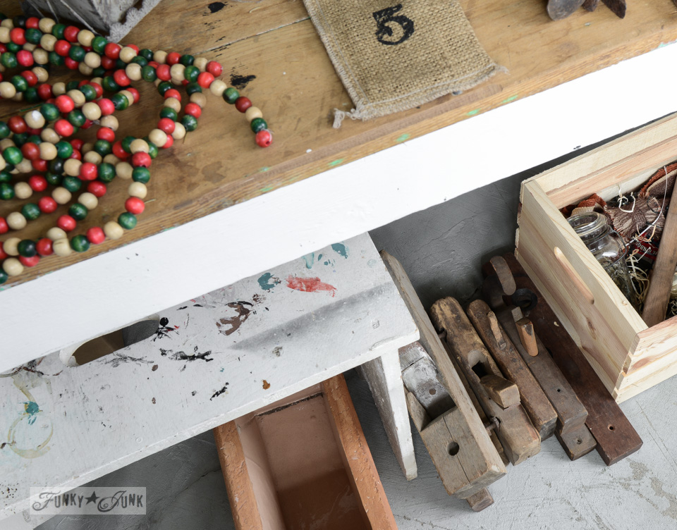 Cleaning up and clearing out for bigger and better / a basement revamp via FunkyJunkInteriors.net
