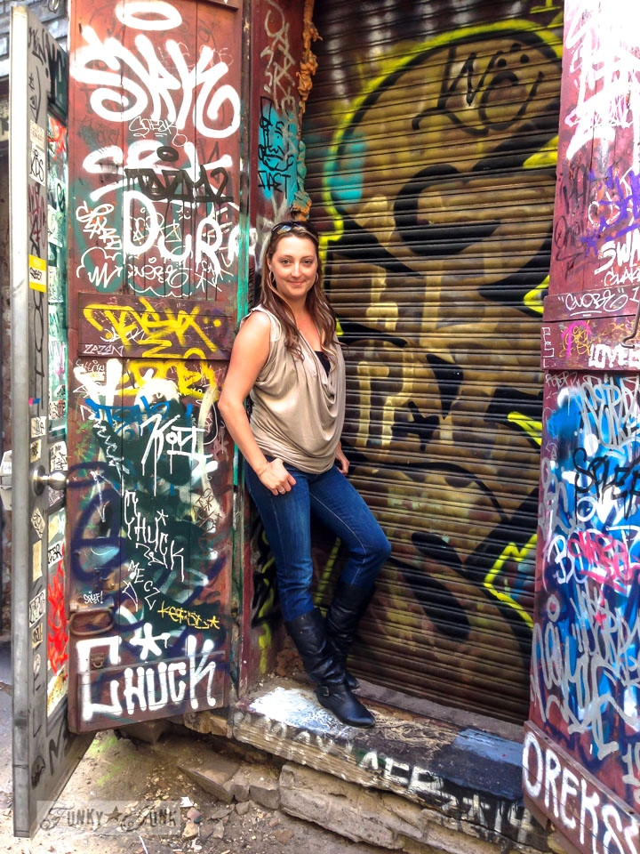 Jennylyn Pringle of Fusion Mineral Paint - Homestead House / CN Tower, Wicked, Graffiti Alley. Toronto? Wow. One amazing tour in one post! FunkyJunkInteriors.net
