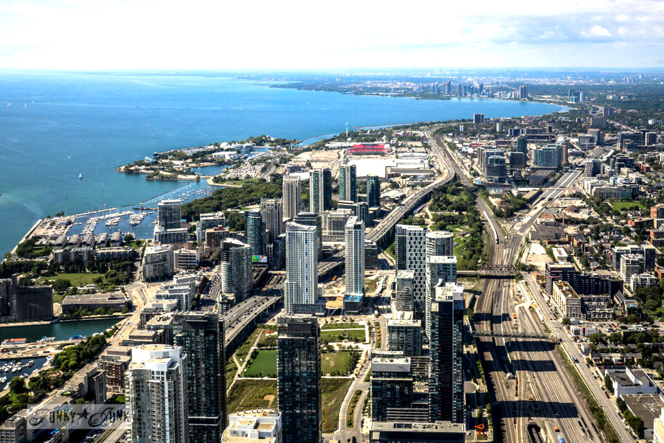 View from the CN Tower, Wicked, Graffiti Alley. Toronto? Wow. One amazing tour in one post! FunkyJunkInteriors.net