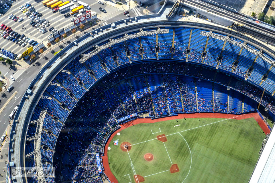 Blue Jay's Game / CN Tower, Wicked, Graffiti Alley. Toronto? Wow. One amazing tour in one post! FunkyJunkInteriors.net