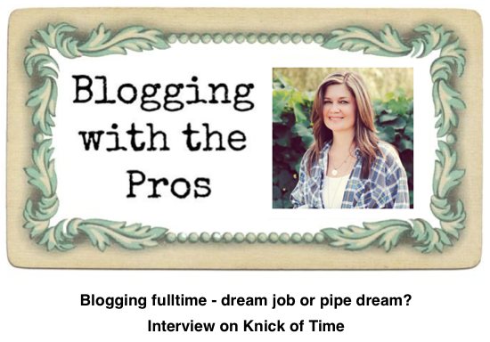 Funky Junk Interiors interview on Knick of Time - Blogging fulltime, dream job or pipe dream?.29 PM