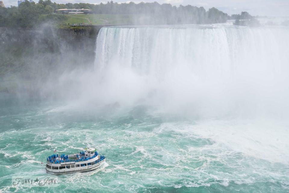Niagra Falls while on a visit to Toronto