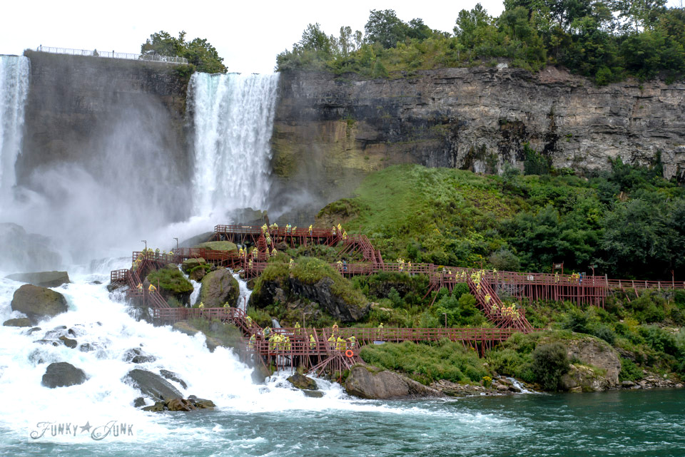 American side of Niagara Falls / A bird's eye view of magnificent Niagara Falls on FunkyJunkInteriors.net