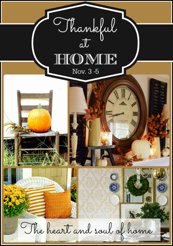 thankful at home fall tour on FunkyJunkInteriors.net