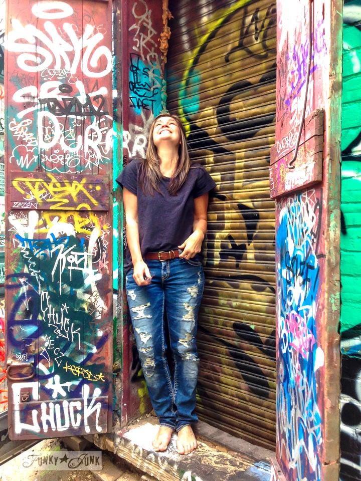 Toronto's Graffiti Alley / FunkyJunkInteriors.net