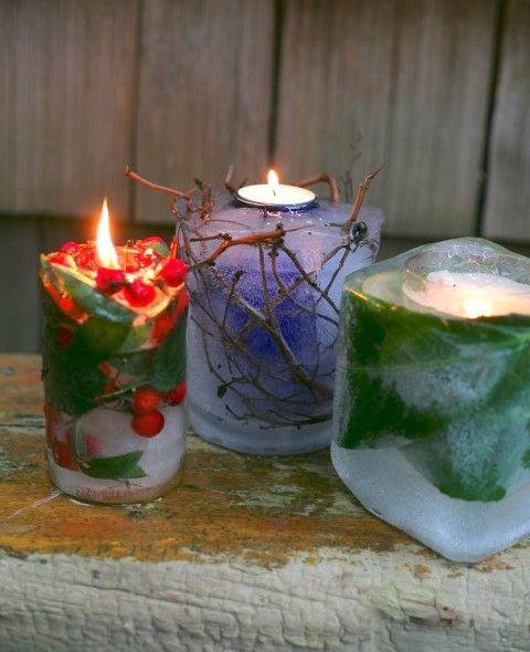 Garden ice candles / Garden Therapy