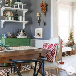 holiday home tour by Inspired by Charm