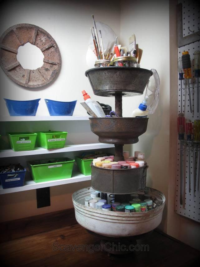 Upcycled Organizing And Storagefunky Junk Interiors