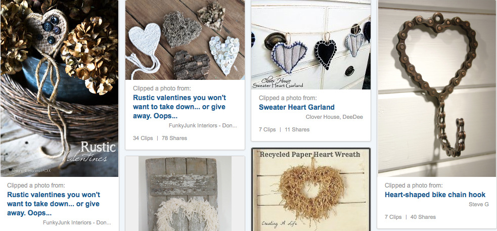 Be my Valentine - colletion of hearts on Hometalk.06 AM