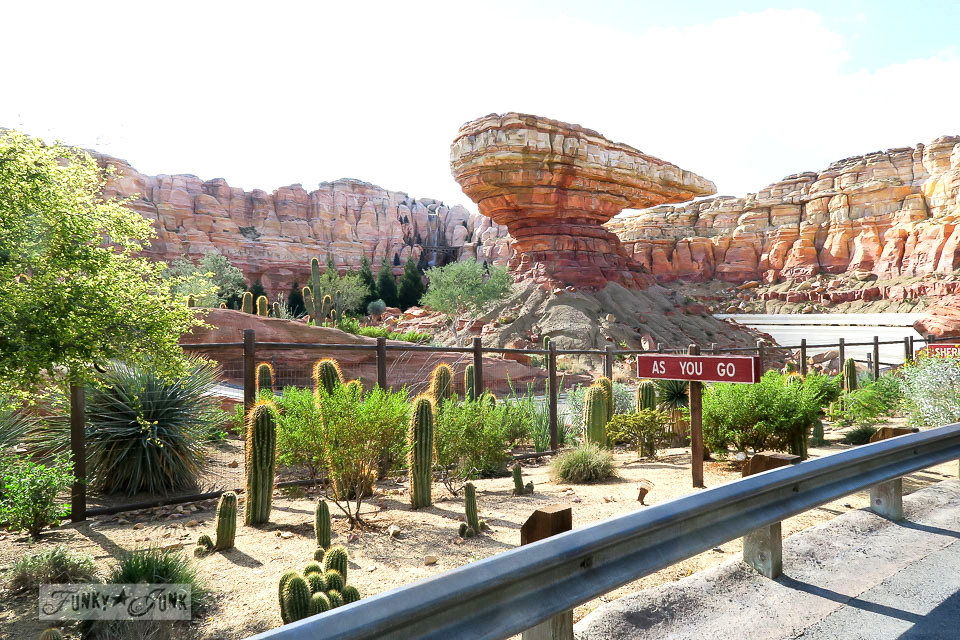 Grand Canyon / Merry Cars Christmas at Disneyland via FunkyJunkInteriors.net