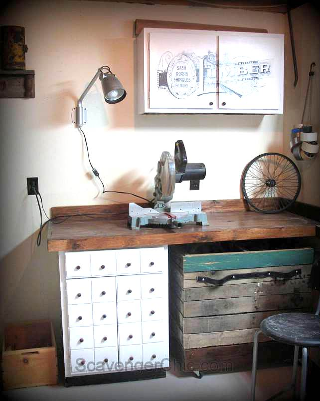 Scavenger Chic workshop on Funky Junk Interiors