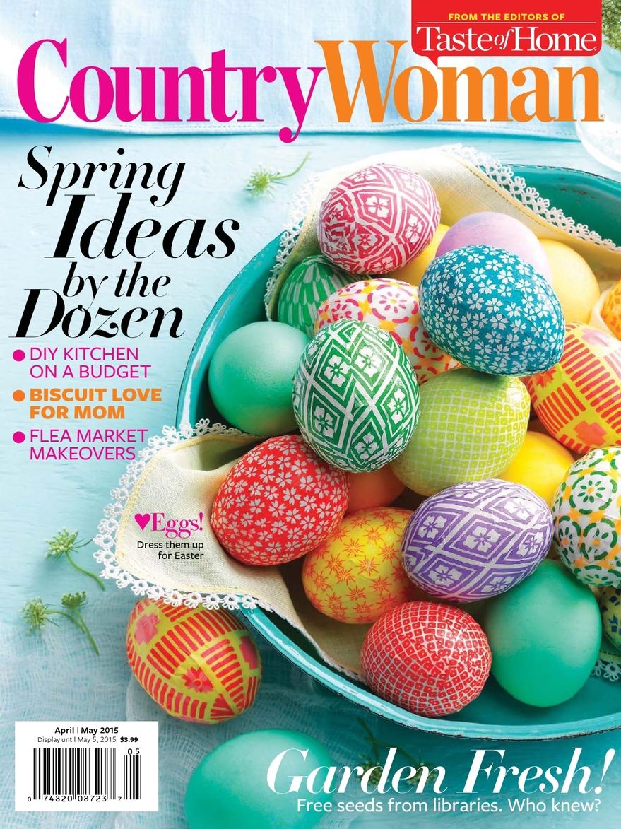 Funky Junk Interiors in Country Woman - April-May 2015 | funkyjunkinteriors.net