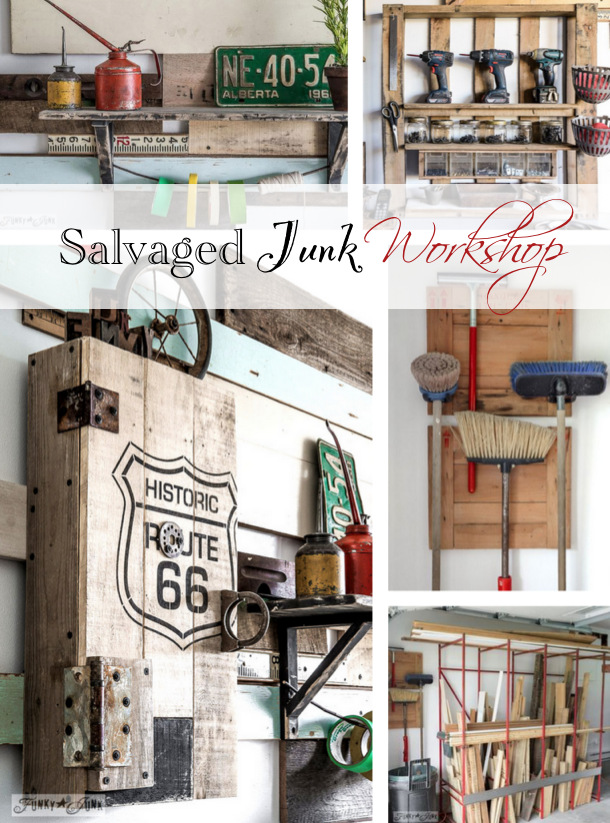 Funky Junk's Salvaged Junk Workshop.45 PM