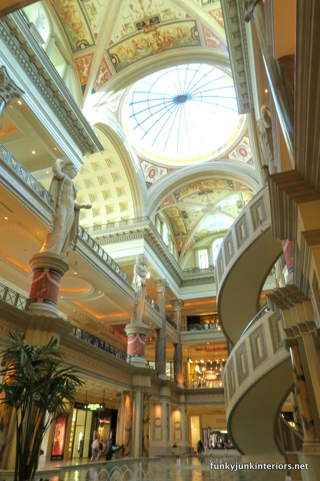 Caesars Palace / The opulence of Las Vegas / FunkyJunkInteriors.net