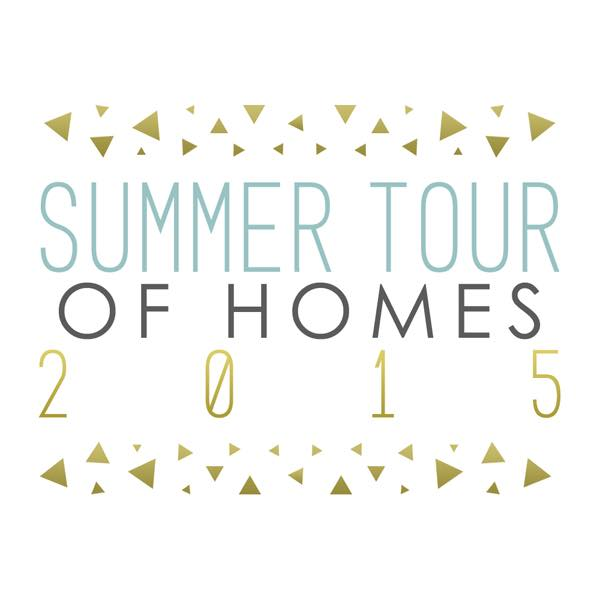 Summer Tour of Homes 2015, hosted by The Shabby Creek Cottage, on Funky Junk Interiors