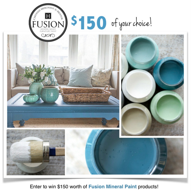 Enter to win $150 of Fusion Mineral Paint!