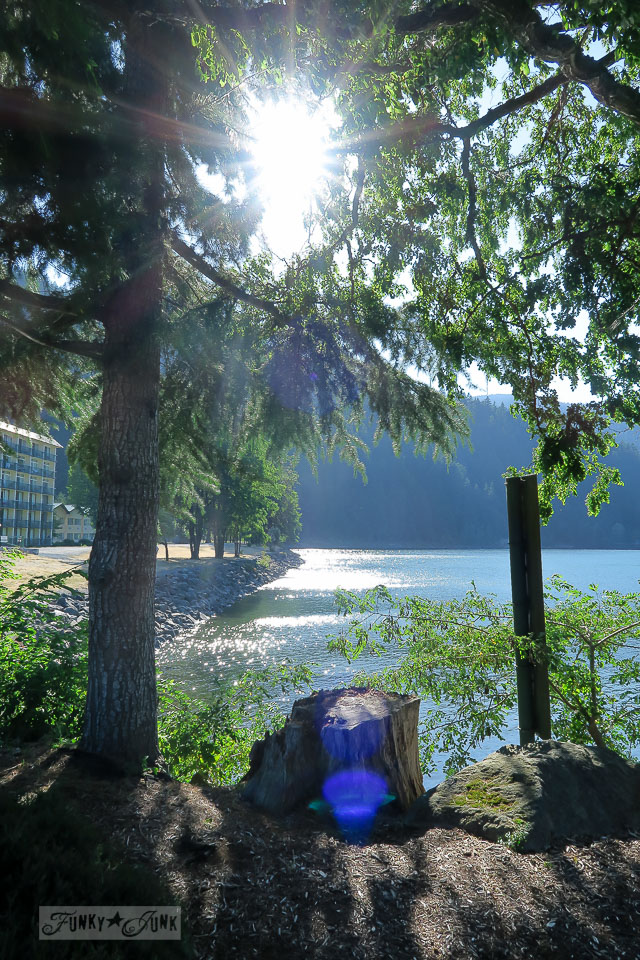 Harrison Lake sunny picture / Harrison Hot Springs, BC / FunkyJunkInteriors.net
