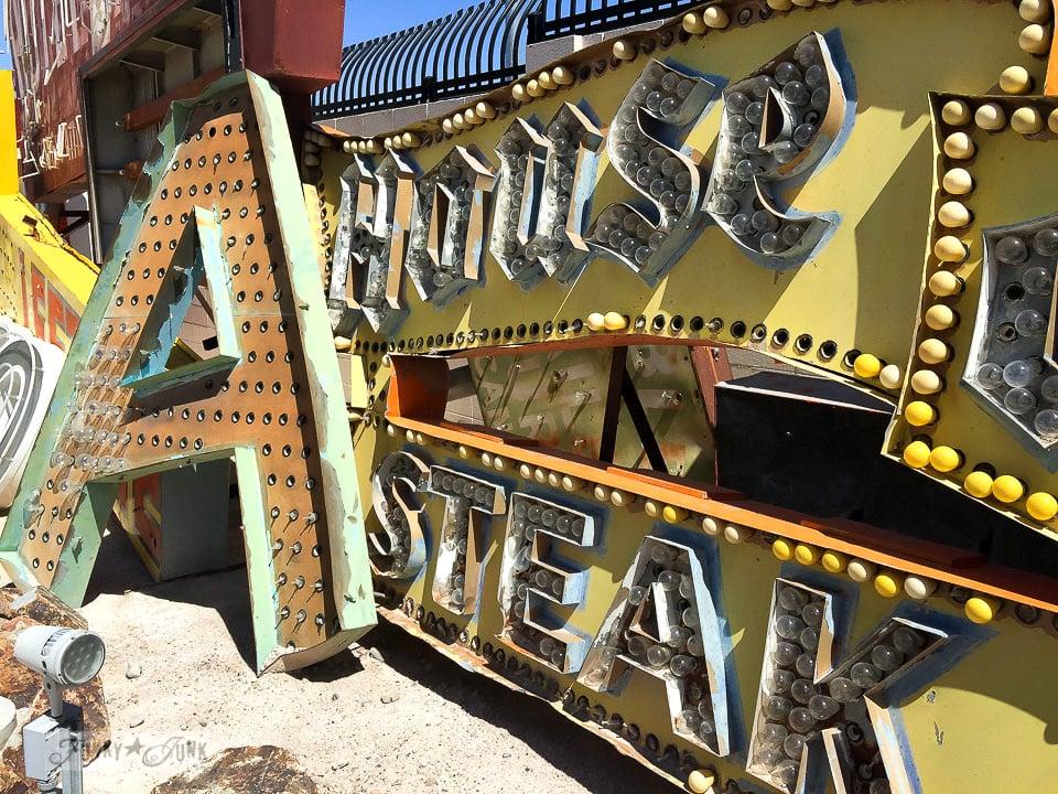 Las Vegas Neon Sign Museum - where neon signs retire / FunkyJunkInteriors.net