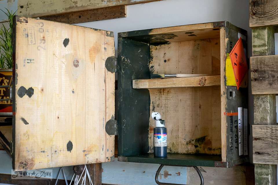 Ammunition Crate Workshop Cabinetfunky Junk Interiors