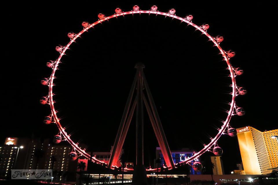 Visiting the High Roller in Las Vegas / funkyjunkinteriors.net