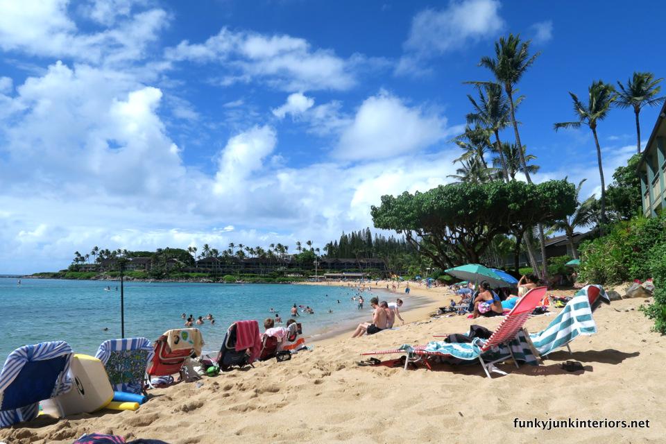 Napili beach in Maui / funkyjunkinteriors.net