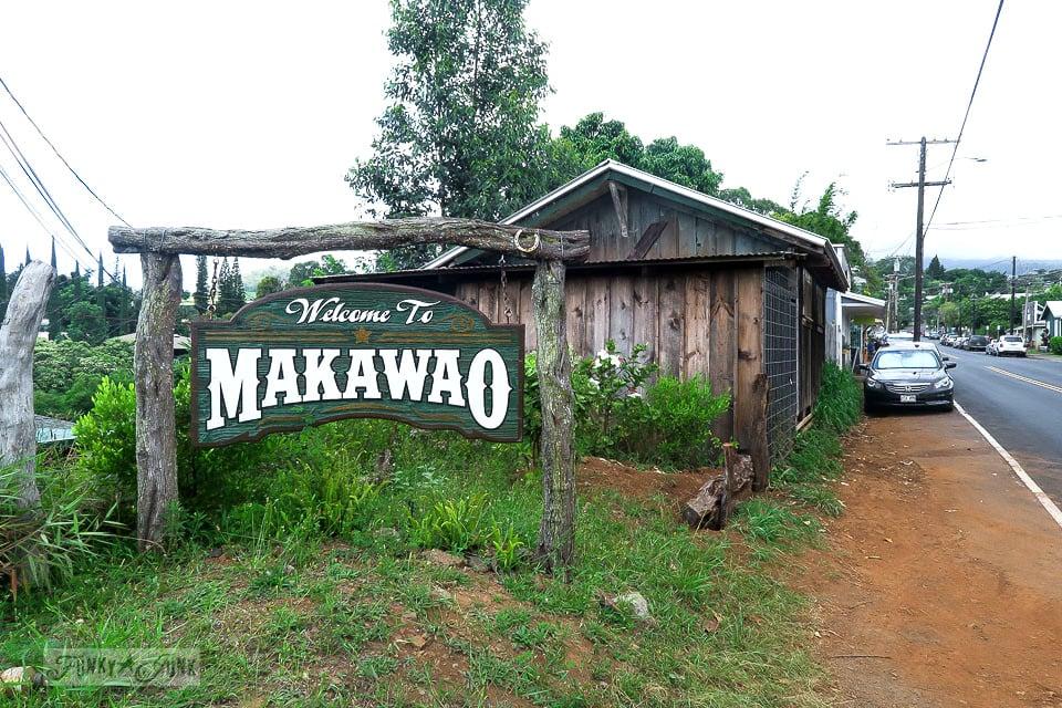 Visiting Makawao, Maui's cowboy town / www.funkyjunkinteriors.net