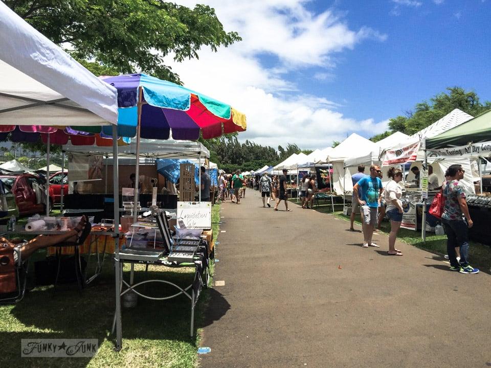The Maui Swap Meet / funkyjunkinteriors.net