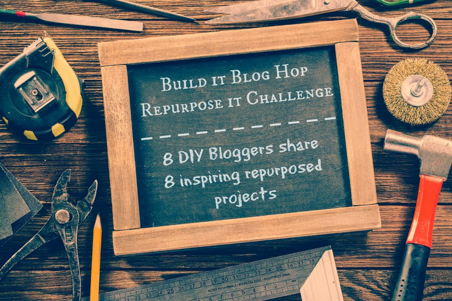 Build it Blog Hop / Repurpose It Challenge / funkyjunkinteriors.net