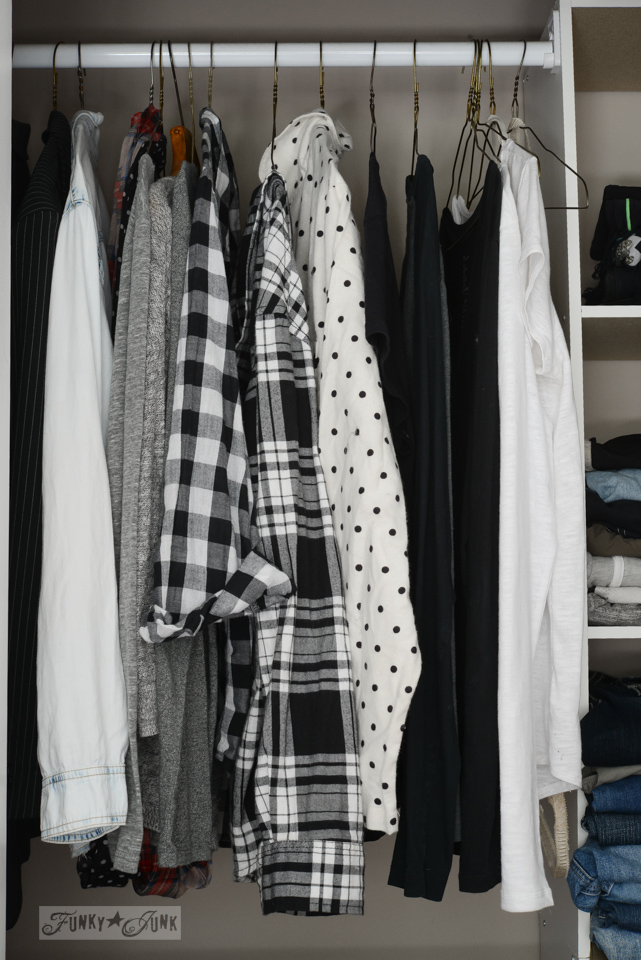 A much cleaner closet and a conversation with myself / funkyjunkinteriors.net