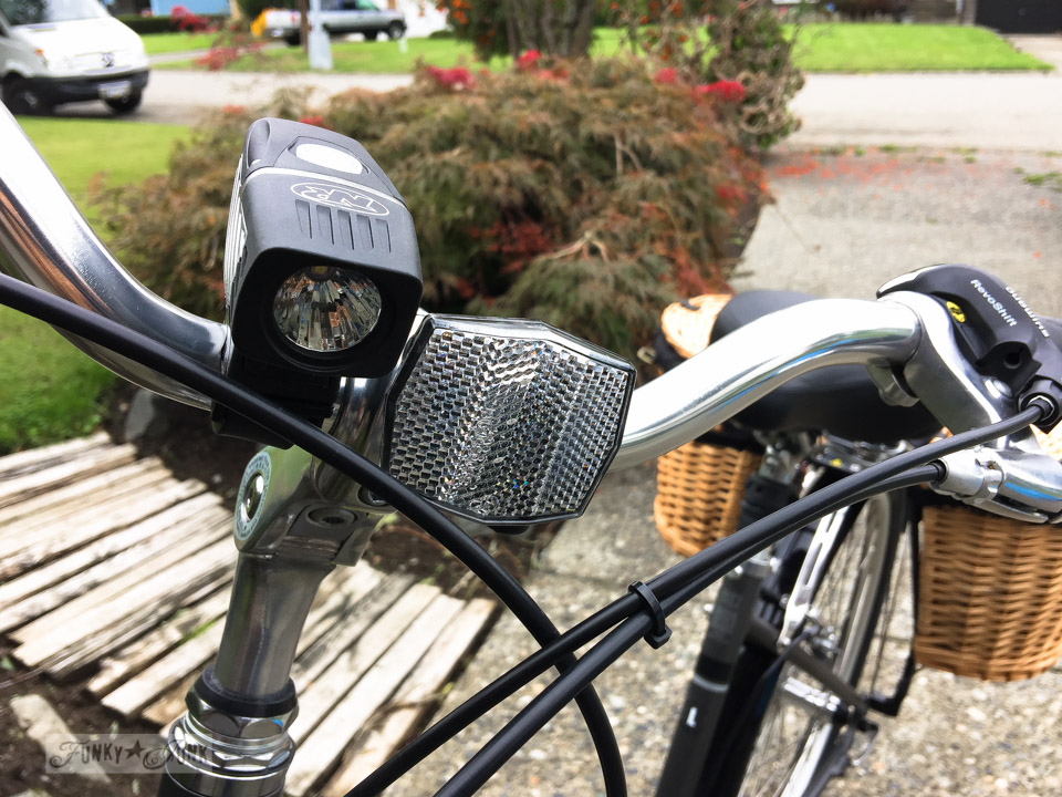 Why you need high quality LED lights for your bike - part of Learn how to buy the best bike for you with 10 must-get accessories! You will fit your custom-fit bike so well, you won't want to get off of it! Learn all the tips in this post.