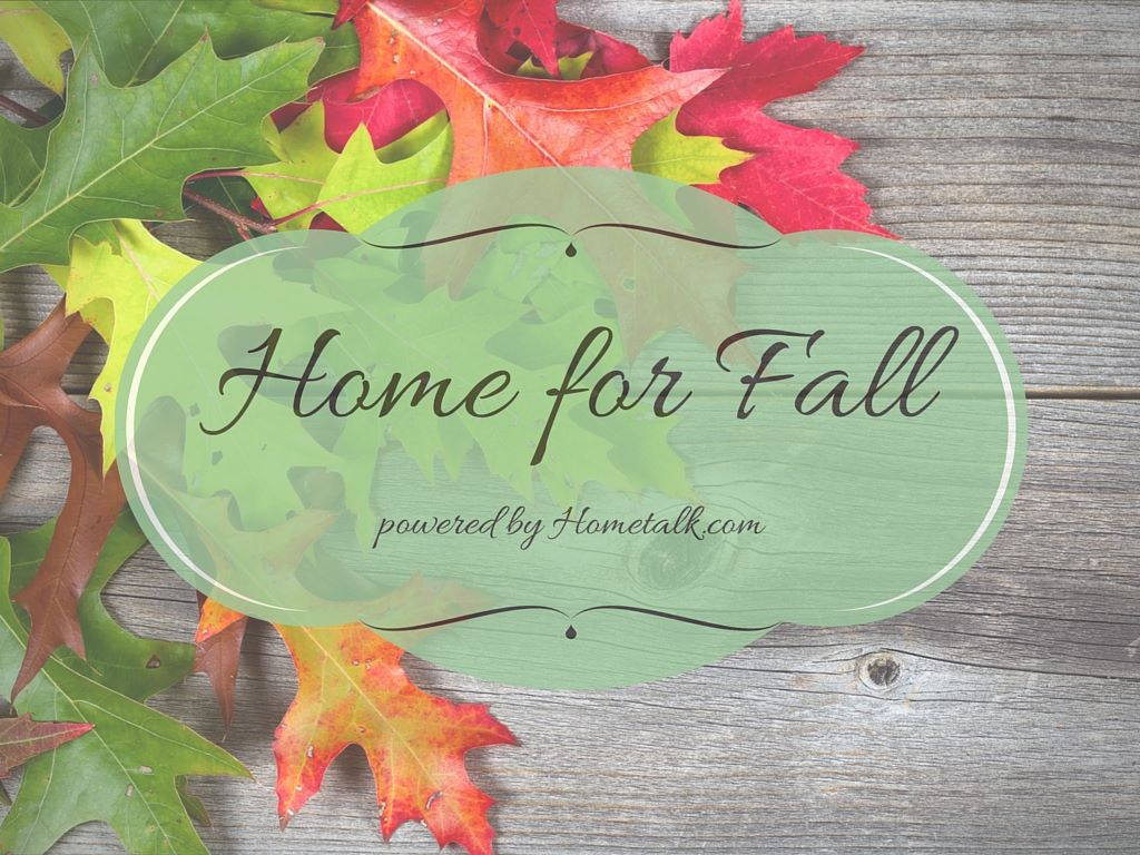 New fall projects in massive Home for Fall, a blogger's blog hop / funkyjunkinteriors.net