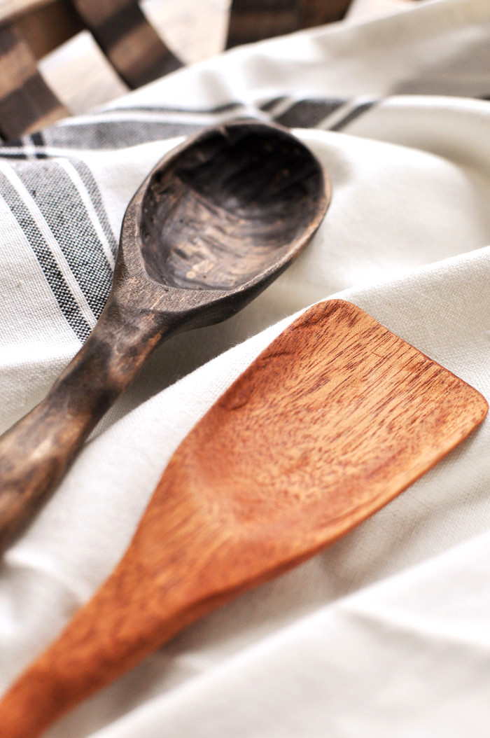 HOW TO CARVE WOODEN SPOONS, by Cherished Bliss, featured on Funky Junk Interiors