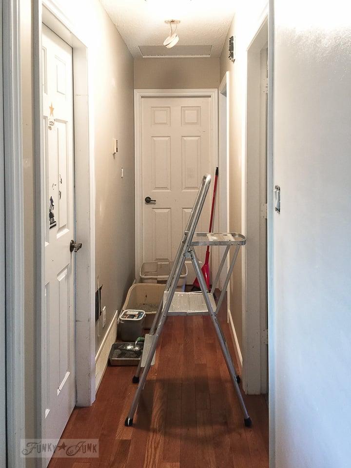 builders grade before hallway