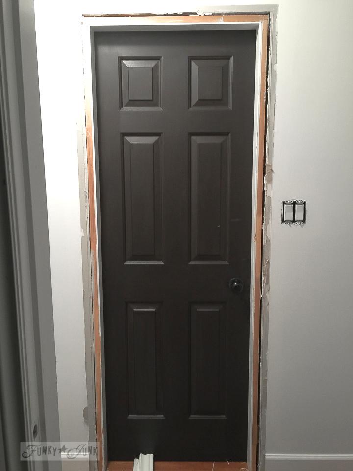 chocolate door