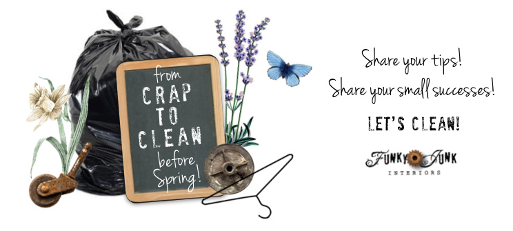 From Crap To Clean - A friendly supportive Facebook community encouraging each other to clean up our homes!