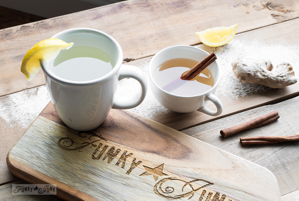 Learn how to make soothing, healthy fresh ginger tea!