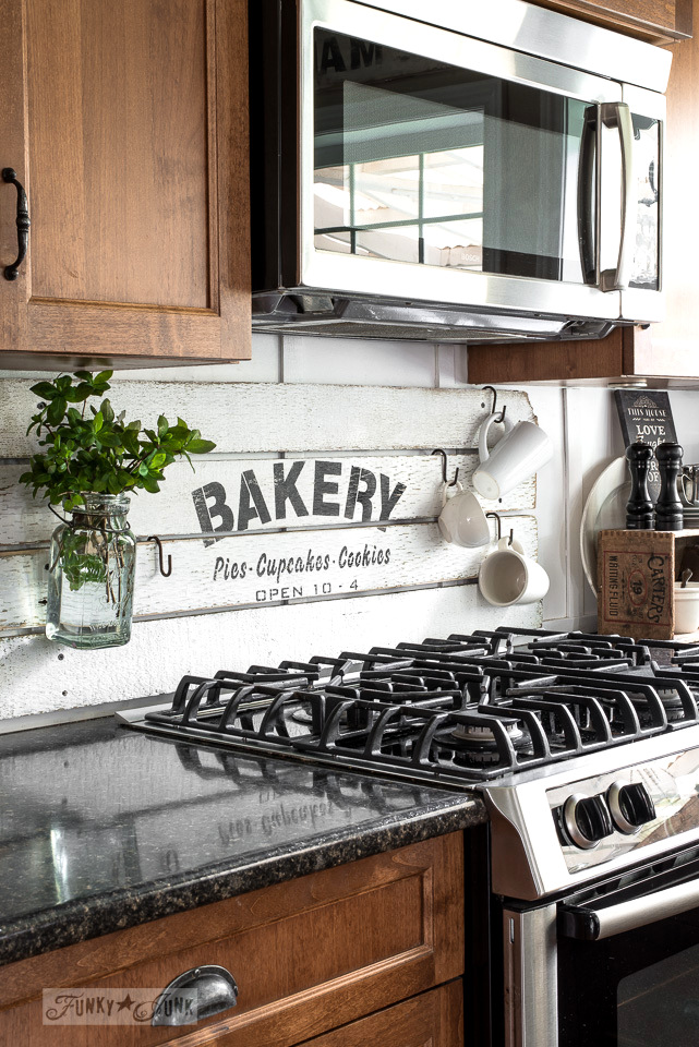 Diy This Charming Farmhouse Bakery Kitchen Sign Scrap Wood Stencil