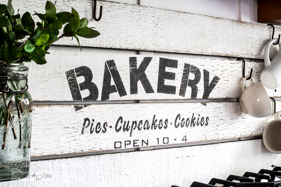 Diy This Charming Farmhouse Bakery Kitchen Sign Scrap
