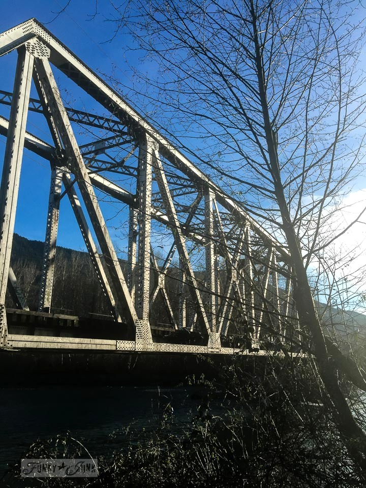 Train bridge on a sunny day / funkyjunkinteriors.net