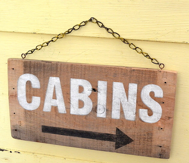 Rustic Signs Made from an Old Crate by My Salvaged Treasures, featured on Funky Junk Interiors