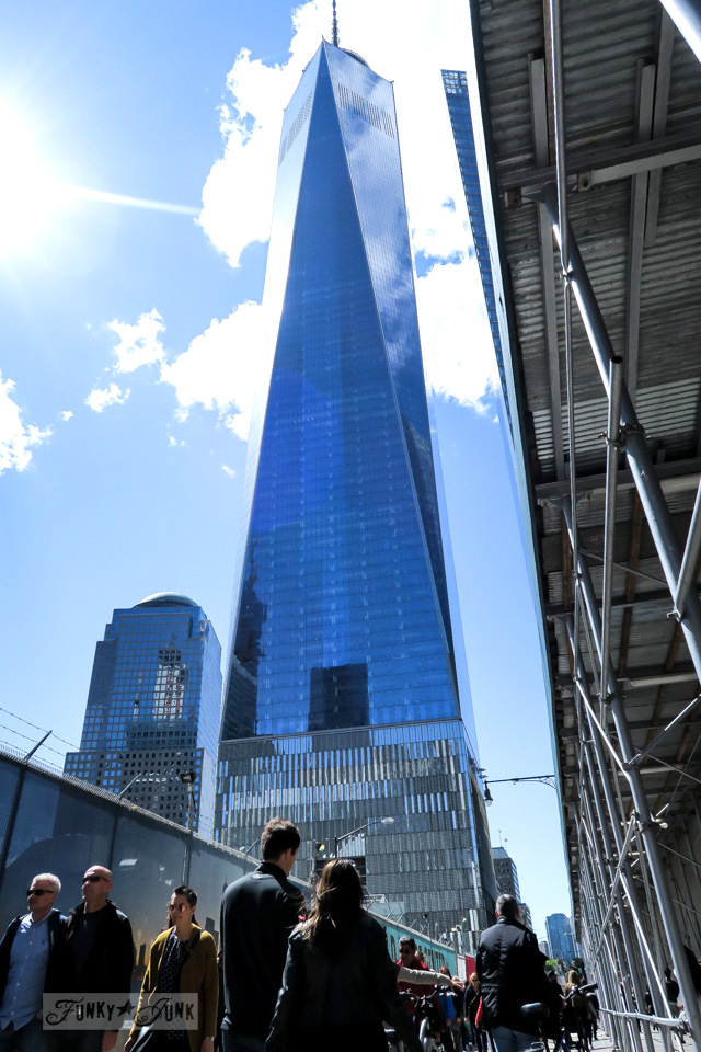 Freedom Tower at the 9-11 Memorial in New York City / funkyjunkinteriors.net