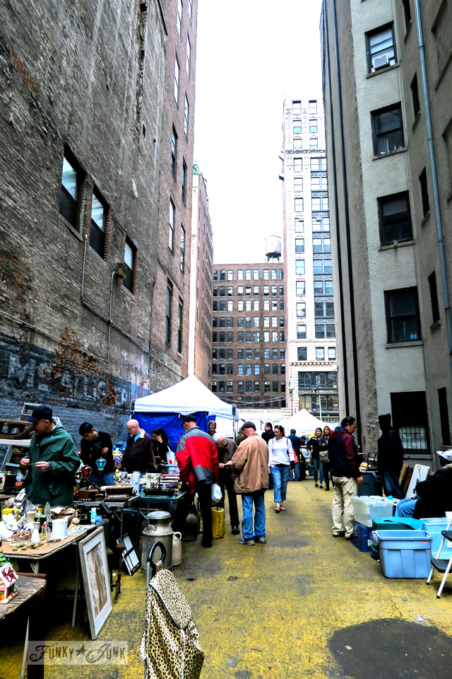 Chelsea Flea Market in New York City / funkyjunkinteriors.net