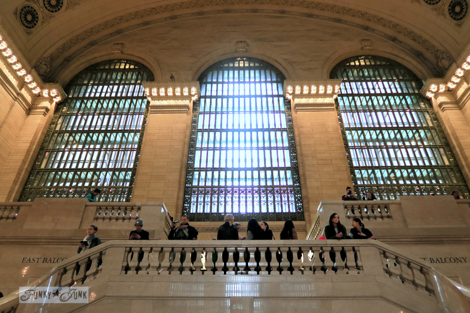 Grand Central Station in New York City / funkyjunkinteriors.net