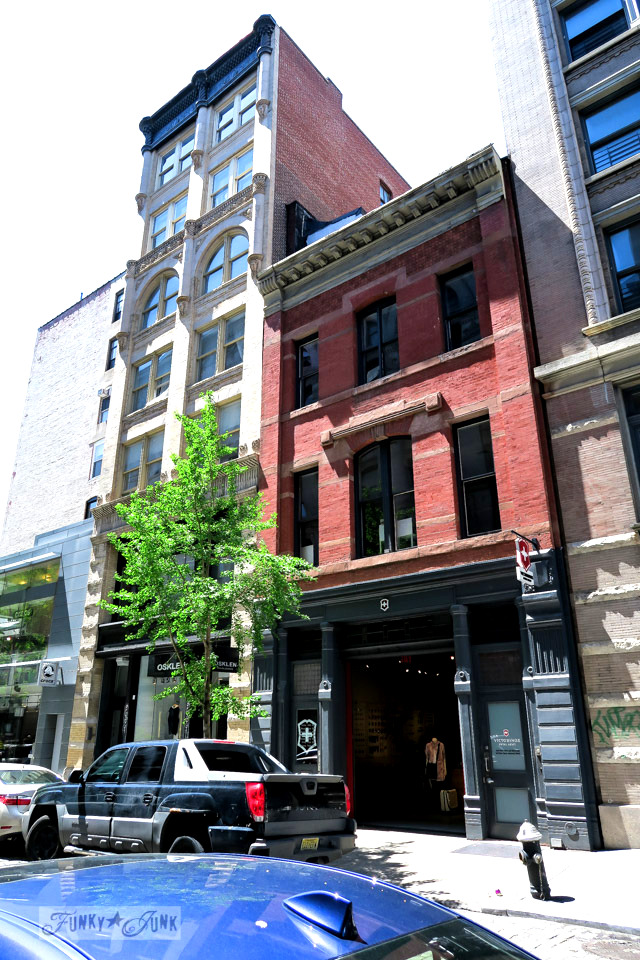 The beautiful historic buildings of Soho, in New York City / funkyjunkinteriors.net