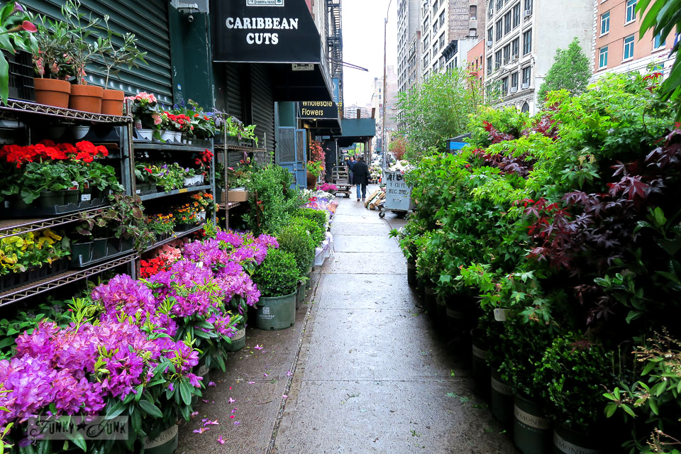 Times Square, The Flower District, Matilda, And